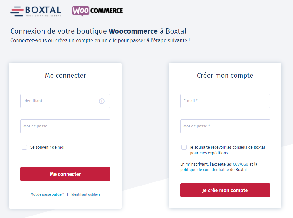 Boxtal_Woocommerce_Connexion-Creation-compte.PNG
